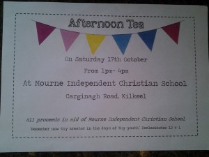 Invitation to the Coffee Morning