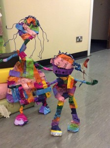 Colourful characters, transformed by 'reading'