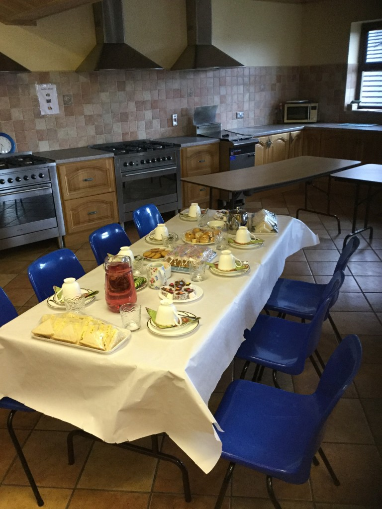 Mrs Watson prepared a sumptuous tea for the Victorian tea party!