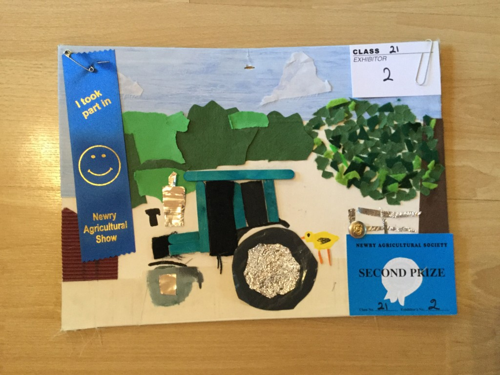 Second Prize in Year 5 Collage