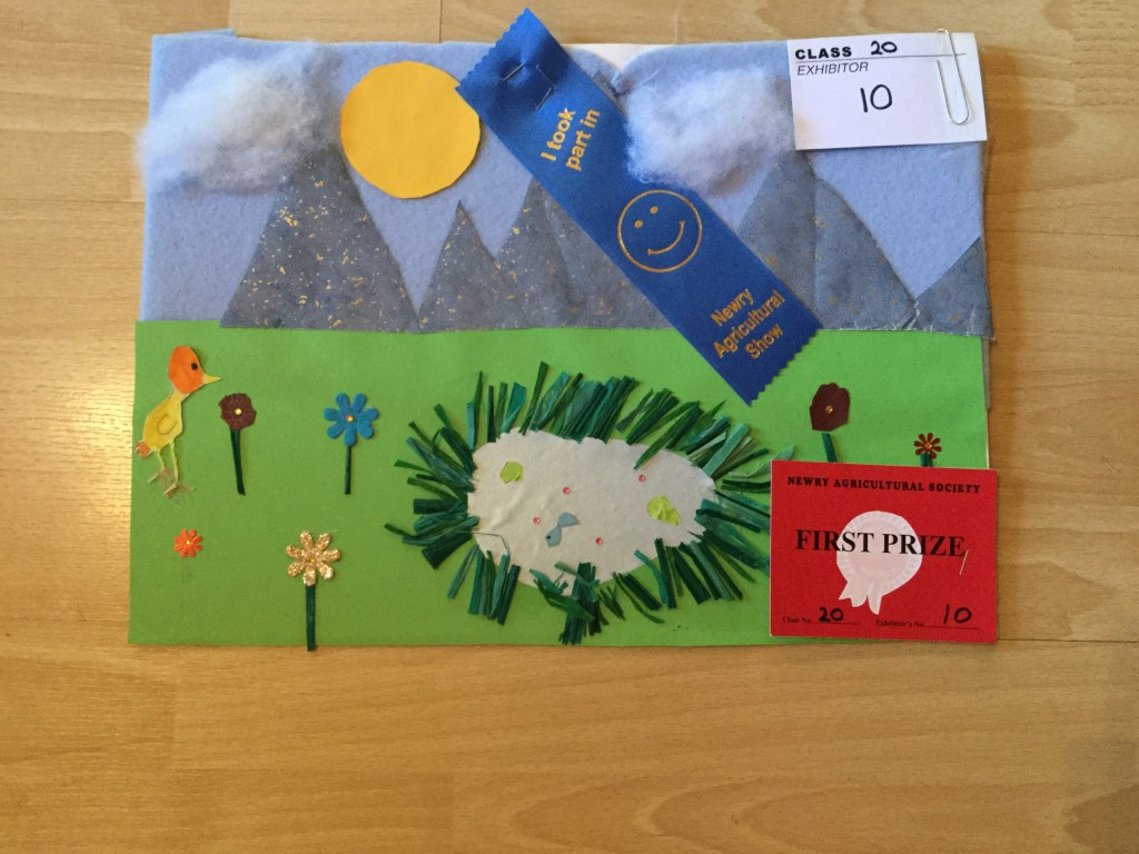 First Prize in Year 4 Collage