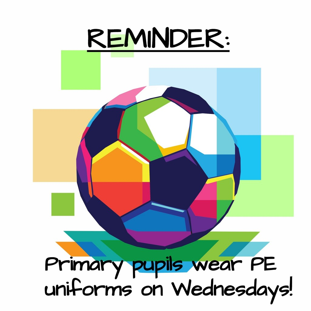 PE Uniform Reminder